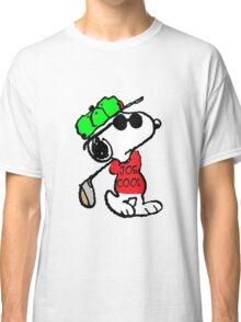 Snoopy Joe Cool and Golf Classic T-Shirt