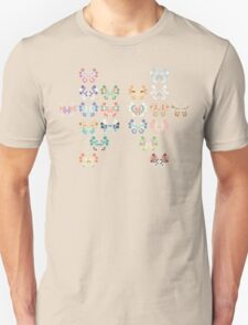 Pokemon - Vivillon Pattern Unisex T-Shirt