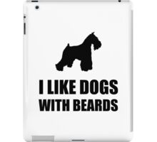 Dog Beard Schnauzer iPad Case/Skin