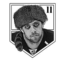 Coonskin Anze Kopitar Tee - LA Kings Photographic Print