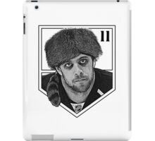 Coonskin Anze Kopitar Tee - LA Kings iPad Case/Skin