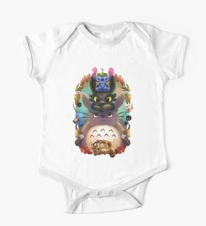 Totoro lilo One Piece - Short Sleeve