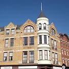 Classic Architecture, Newark Avenue, Jersey City, New Jersey  by lenspiro