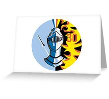 Knights - Cadet Squadron 30 Greeting Card