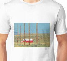 Old Bus in Desert Heat Unisex T-Shirt