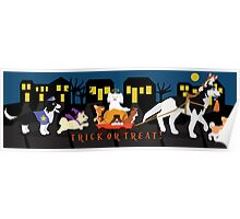 Trick or treat Pets Poster
