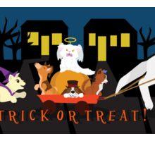 Trick or treat Pets Sticker