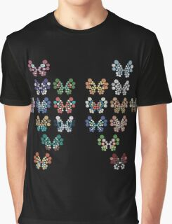Pokemon - Vivillon Pattern Graphic T-Shirt