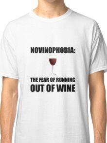 Novinophobia Wine Classic T-Shirt