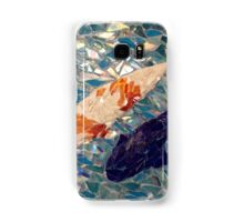 Koi with his shadow Samsung Galaxy Case/Skin