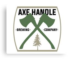 Axe Handle Beer Brewery Canvas Print