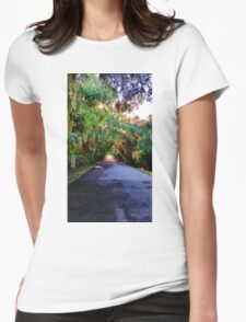 Canopy Road Womens Fitted T-Shirt