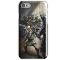 Twilight Princess Link and Darknuts iPhone Case/Skin