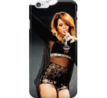 Rihanna drinks water at the concert iPhone Case/Skin