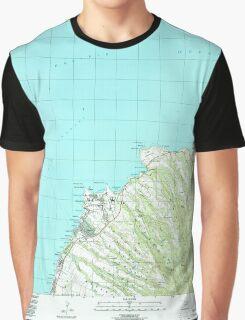 USGS TOPO Map Hawaii HI Napili 349621 1997 24000 Graphic T-Shirt