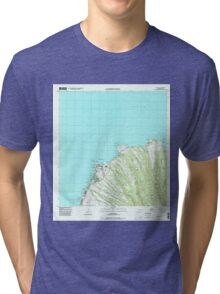 USGS TOPO Map Hawaii HI Napili 349621 1997 24000 Tri-blend T-Shirt