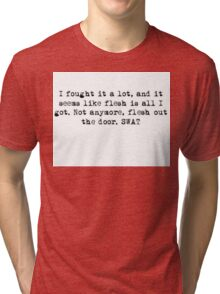Twenty One Pilots Holding onto you Tri-blend T-Shirt