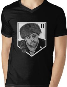 Coonskin Anze Kopitar Tee - LA Kings (two-color design) Mens V-Neck T-Shirt