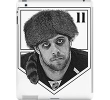 Coonskin Anze Kopitar Tee - LA Kings (two-color design) iPad Case/Skin