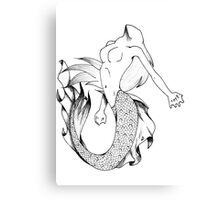 The Magic Mermaid Canvas Print