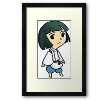 Haku (Spirited Away) Framed Print