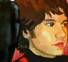 Ryan Ross with a crow Sticker