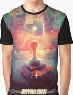 Gamming old school Retro Graphic T-Shirt