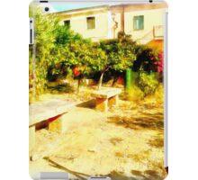 Arzachena: vegetable garden iPad Case/Skin