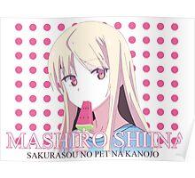 Mashiro Shiina Poster