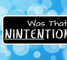 Was that Ninten-tional? by fuzzynegi