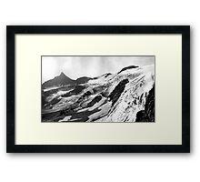 Harrison Glacier Framed Print