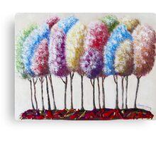Truffula Forest Canvas Print