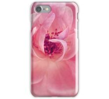 Pink Cloud Garden Rose Abstract Floral iPhone Case/Skin