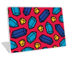 Bright Gems Pattern Laptop Skin