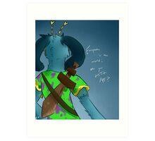 lyricsaga Art Print