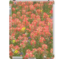 Indian Paintbrush Red iPad Case/Skin