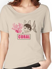 Coral - Rick Grimes Women's Relaxed Fit T-Shirt
