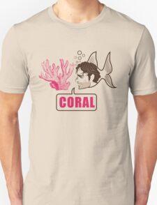 Coral - Rick Grimes Unisex T-Shirt