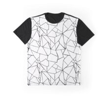 Web in white and black Graphic T-Shirt