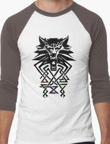 The Witcher - Big Witcher Medallion Men's Baseball ¾ T-Shirt