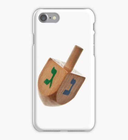 Hanukkah Dreidel Symbol Isolated iPhone Case/Skin