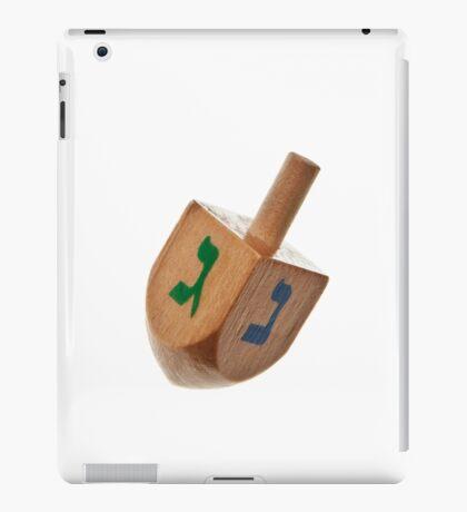 Hanukkah Dreidel Symbol Isolated iPad Case/Skin