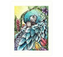 'Jungle Beauty'- Onyx Art Studios Art Print