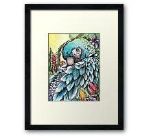 'Jungle Beauty'- Onyx Art Studios Framed Print
