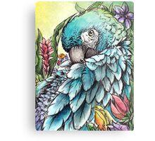 'Jungle Beauty'- Onyx Art Studios Metal Print