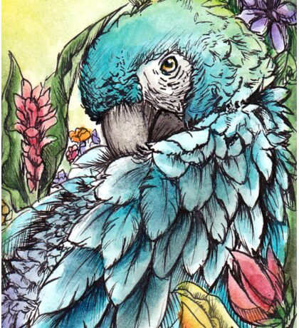 'Jungle Beauty'- Onyx Art Studios Sticker