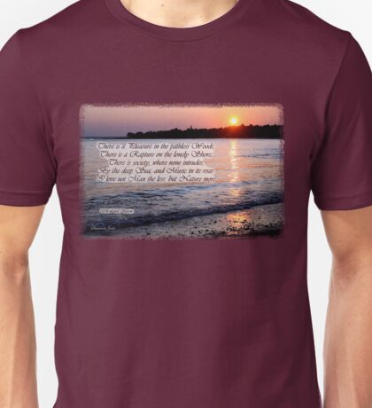 A Fragment from Lord Byron Unisex T-Shirt