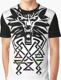 The Witcher - Big Witcher Medallion Graphic T-Shirt