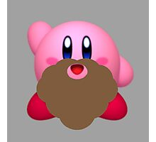 Kirby with beard Photographic Print