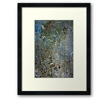 Volcanic Land Masses 3, Section 1 Framed Print